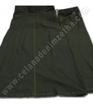 Rok Zetha Denim Warna Army